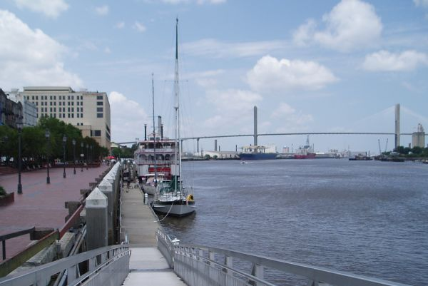 S/V Bad Bunny at Savannah City Dock, Georgia, USA