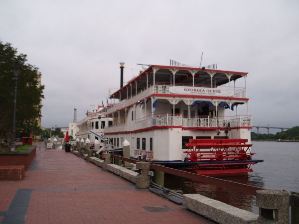 Georgia Queen River Cruise Boat, Savannah, Georgia, USA