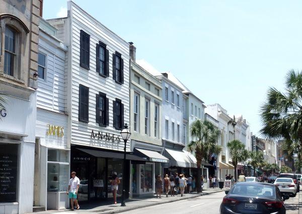 King's Street in Charleston, SC, USA