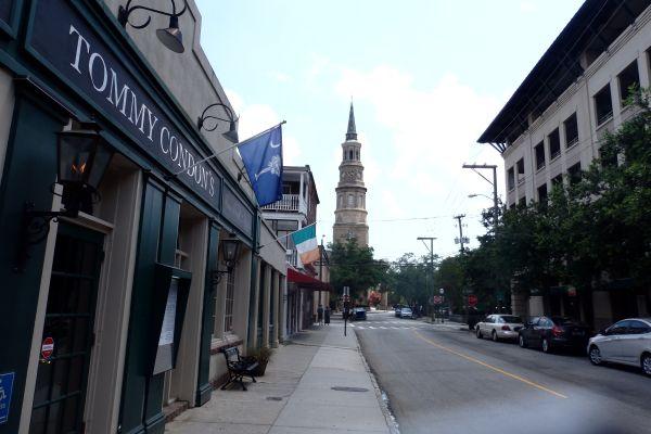 Near Market Street, Charleston, SC, USA