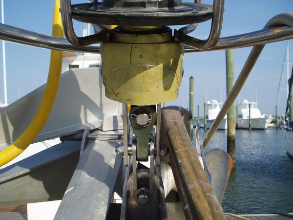 Repaired under the  Jib Sail Furler System with New Forestay Pin and New Tang