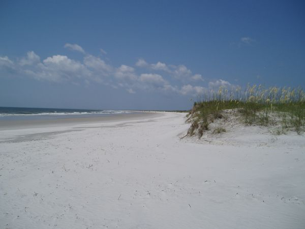 Soft Sand Beach, Masonboro Island, North Carolina, USA