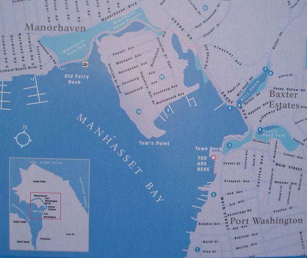 PortWashingtonBoardWalkingMap