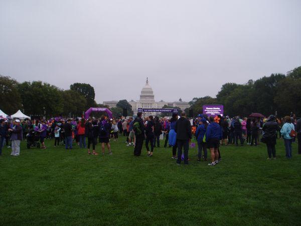 Alzheimer Walk Gathering, Washington DC, USA