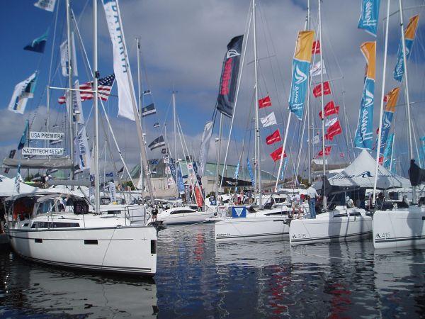 Annapolis International Sailboat Show, Maryland, USA