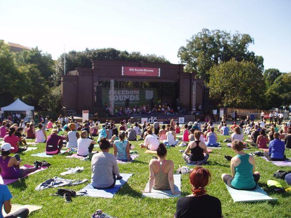 Yoga Event, Washington DC, USA