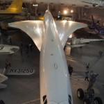 Air France Concorde inside the Smithsonian Air & Space Museum near Dulles Airport, USA