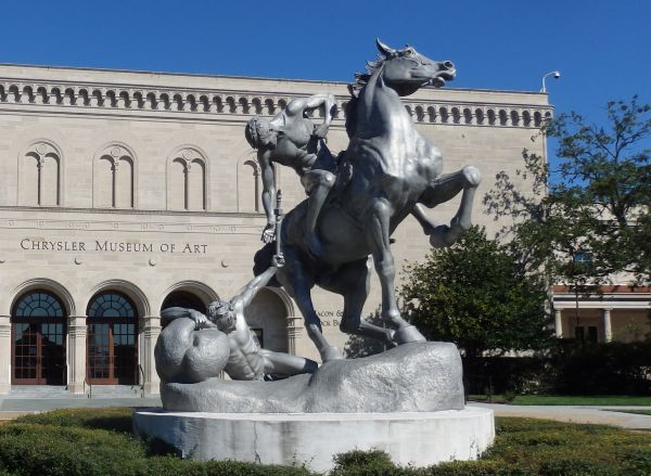 Chrysler Museum of Art, Norfolk, Virginia, USA