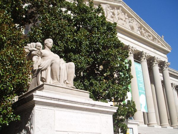 National Archives Building, Washington DC, USA