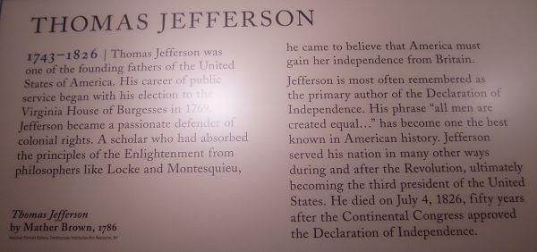 """""""All men are created equal..."""" by Thomas Jefferson"""