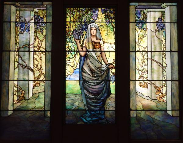 Tiffany Glass Art, Chrysler Museum of Art, Norfolk, Virginia, USA