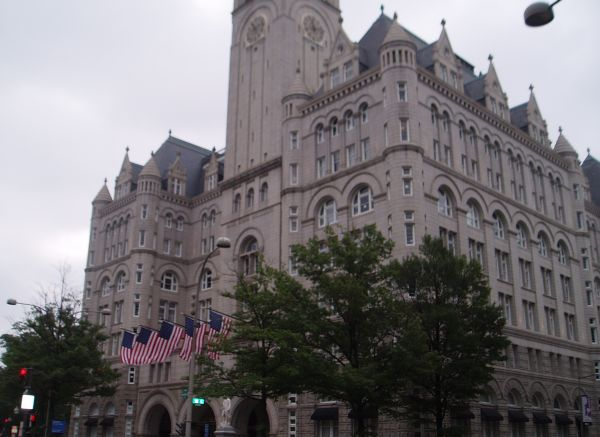 Recently Opened Trump Hotel in Washington DC, USA