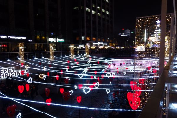 Merry Christmas Hearts in Seoul, Korea