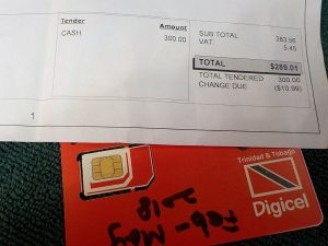 Internet SIM Card in Trinidad – Digicel Prepaid – Traveling and